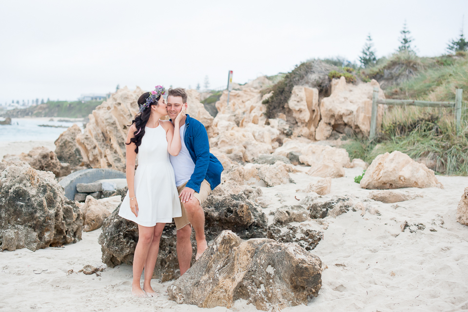Lifestyle Photographer Perth, Wedding Photographer Perth, Liesl Cheney Photography, Trigg Beach Engagement Shoot