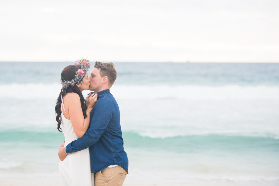 Lifestyle Photographer Perth, Wedding Photographer Perth, Liesl Cheney Photography, Trigg Beach Engagement Shoot, Sweet Couple
