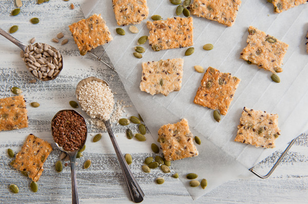 Food Photographer Perth, Food Photography Perth, Liesl Cheney Photography, Seeded Crackers